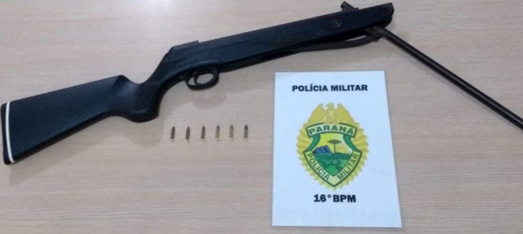 PM detém duas pessoas por porte ilegal de arma em Guarapuava - CGN