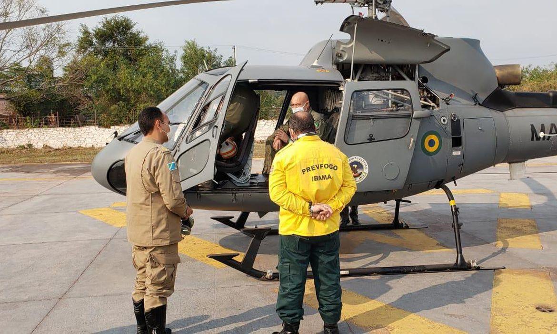Governo federal ajuda no combate a incêndios no Pantanal - CGN